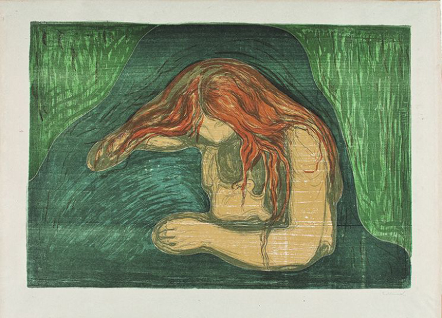 Более 30 работ Эдварда Мунка пропали в Осло. Видимо, украли студенты