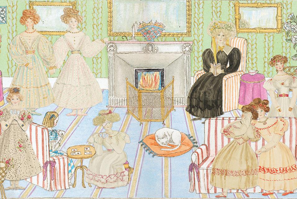 Книжку юной королевы Виктории с коллажами из бумажных кукол впервые издают в Англии
