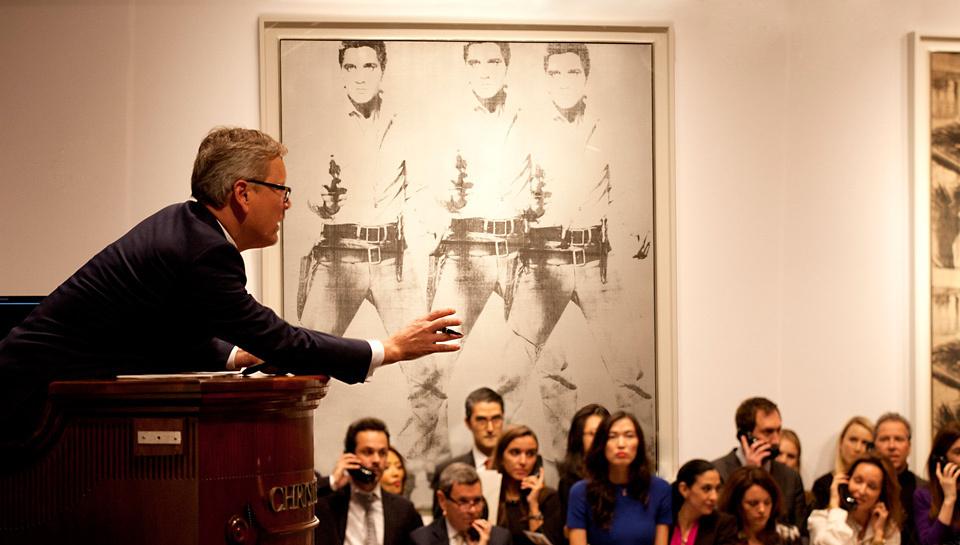 Рекорд Christie's в Нью-Йорке: $852,887 миллионов долларов за работы Уорхола, Кунса, Лихтенштейна, Твомбли, Рушей