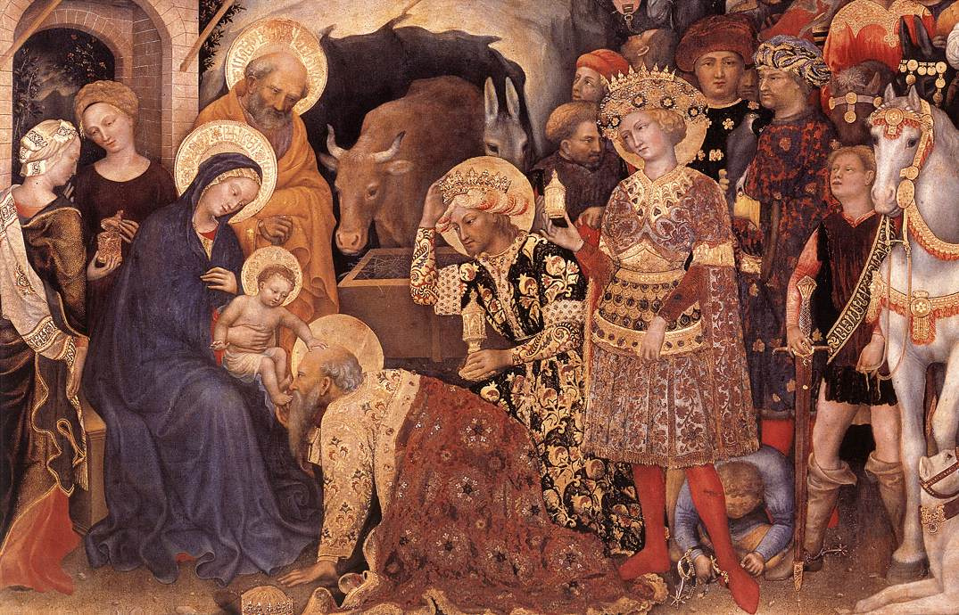 Christmas in Art: The Nativity as Depicted by Artists of The Fifteenth and Sixteenth Centuries