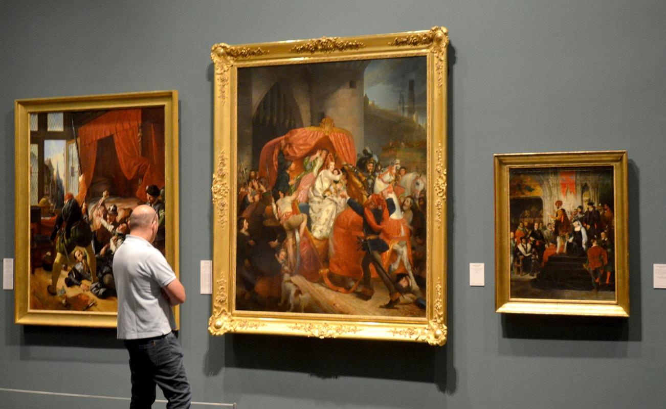 Воевать и любить по-королевски: история в картинах на выставках в Лионе