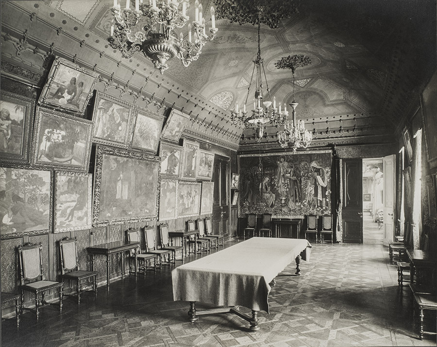 Зал Гогена. 1913