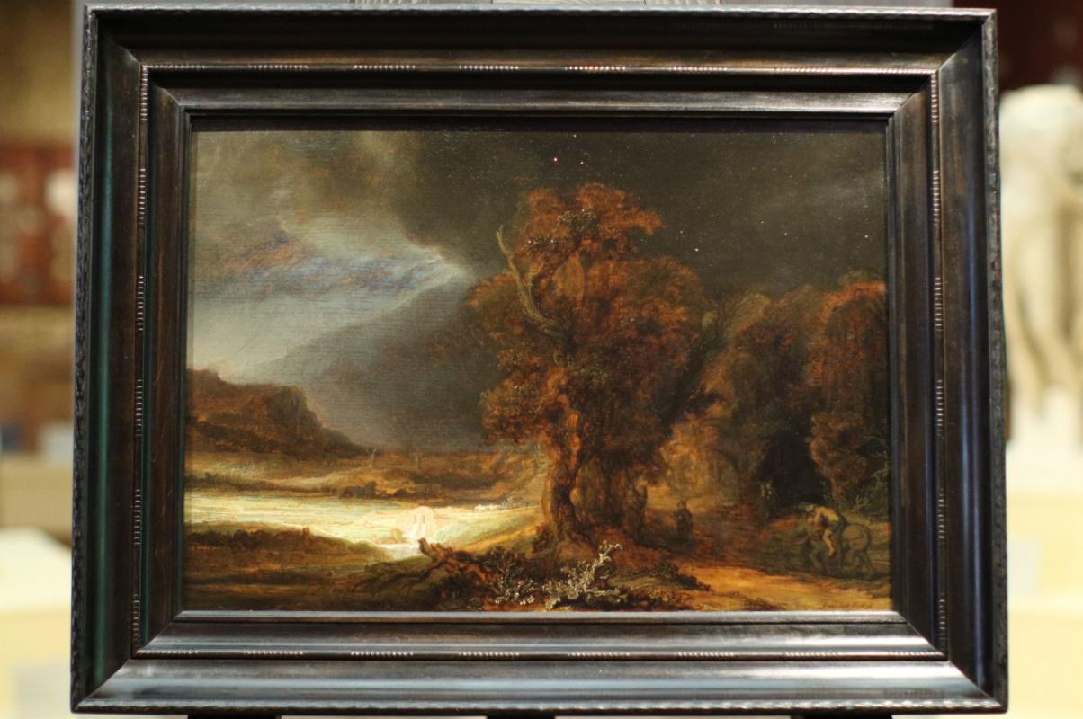 Пейзаж Рембрандта