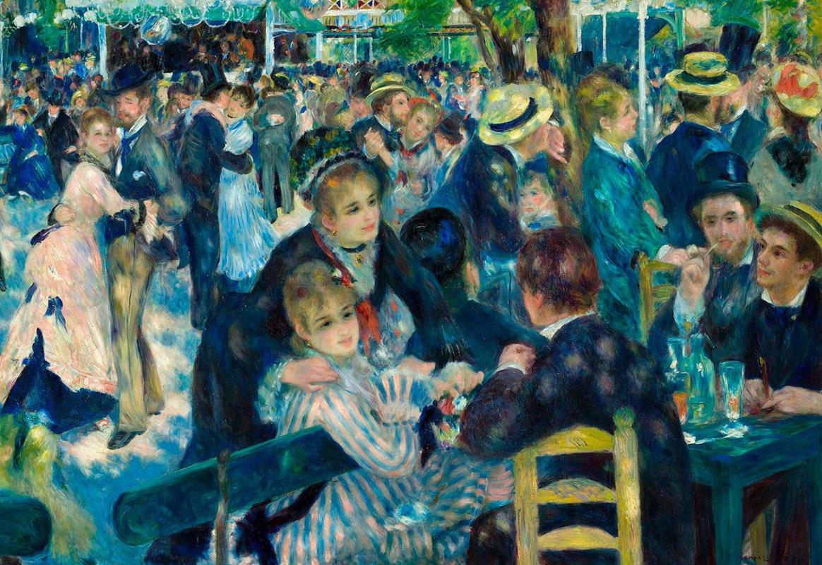 """Ренуаровский """"Бал в Мулен де ла Галетт"""" в Эрмитаже: почему одна эта картина стоит целой выставки?"""