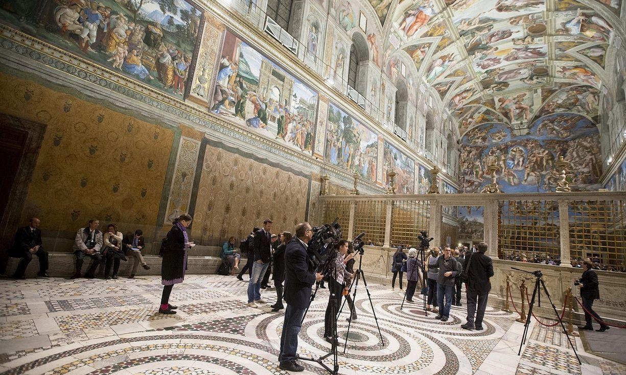 Мобильное приложение Ватикана по сбору средств на реставрацию вызвало споры в арт-мире