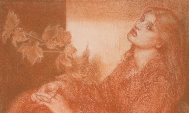 Рисунок Россетти, найденный в книжном магазине, впервые представят в музее