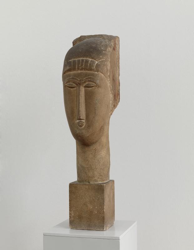 Амедео Модильяни, «Голова» (1913). Государственный музей в Карлсбурге