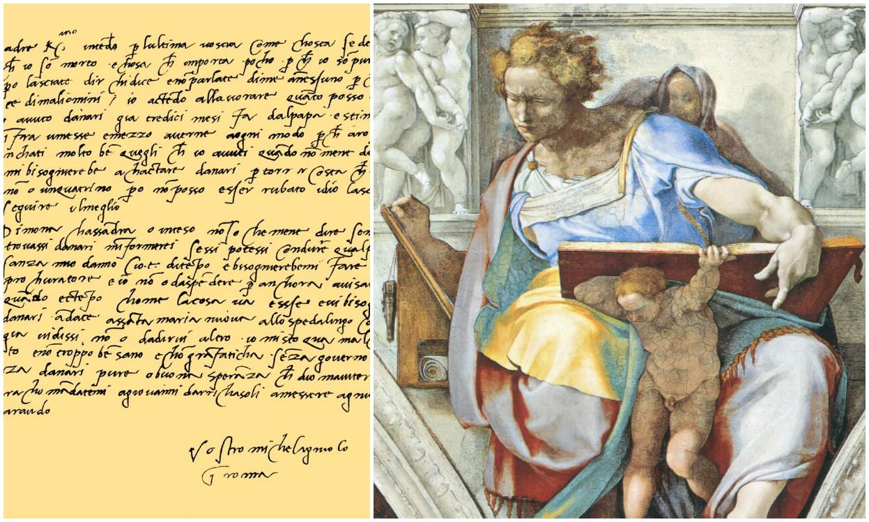«Я к вам пишу…», или Что увидел графолог в письмах знаменитых художников
