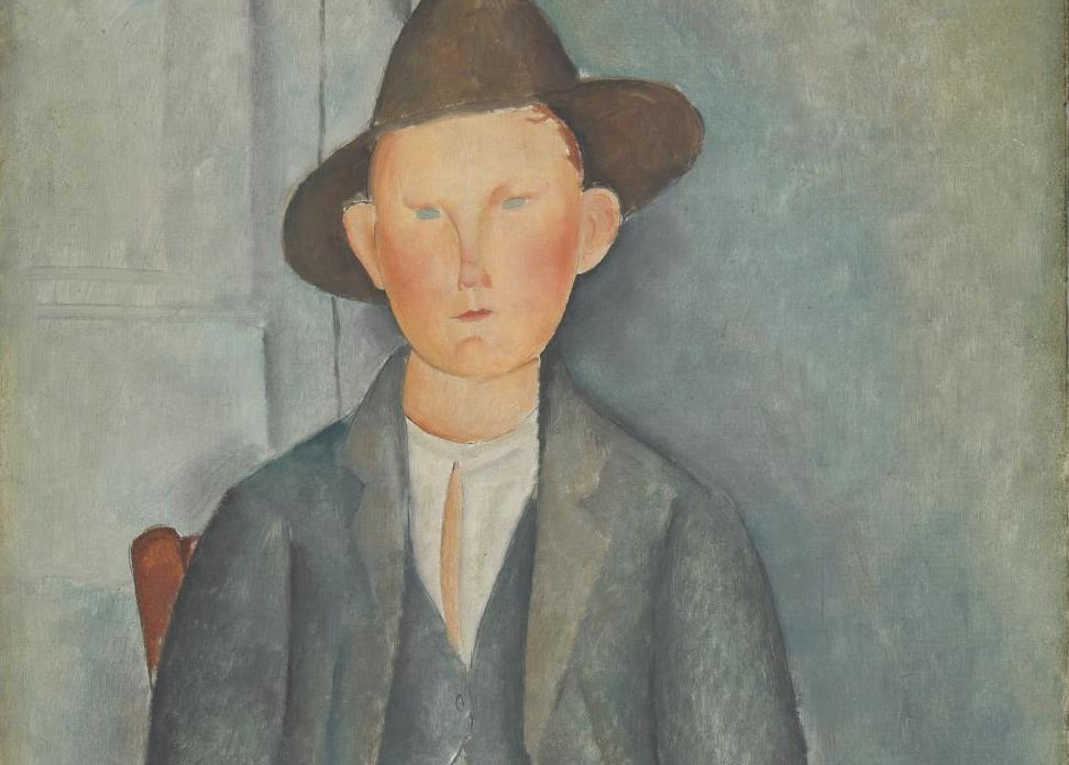 amedeo modigliani Paul guillaume was twenty-three when modigliani painted this portrait already an established dealer in l'art négre, guillaume is presented as the 'new helmsman' and defender of contemporary art his name boldly appears at upper left at upper right the star of david is accompanied by the.