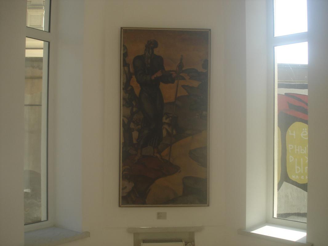 """Они уехали, но обещали вернуться. Выставка легендарных """"независимых""""  в  одесском музее вызвала огромный интерес."""