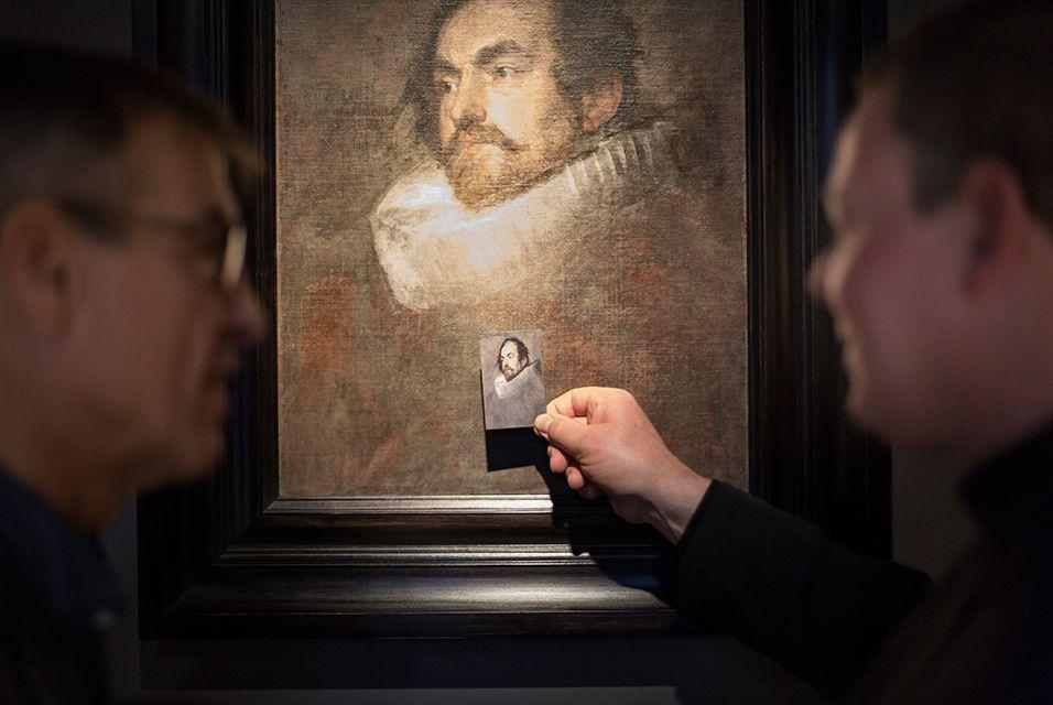 Дом-музей Рубенса получил недавно обнаруженный портрет кисти Ван Дейка