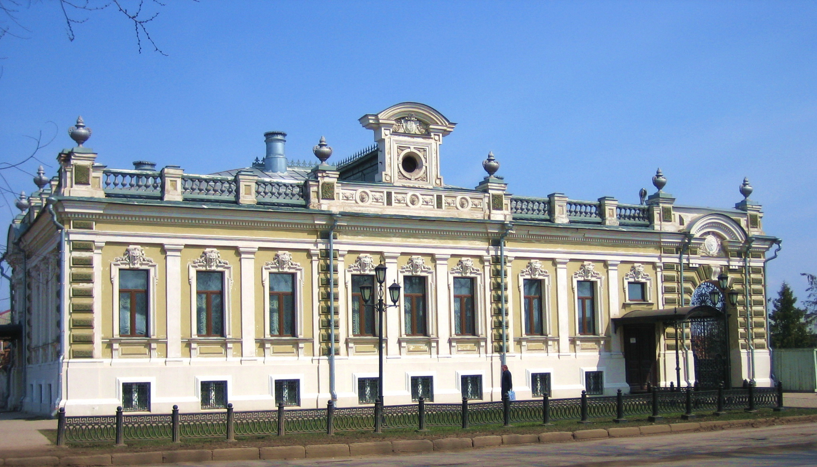 The mansion house of Paisiy Mikhailovich Maltsev, a large grain merchant, built in the 1900s by Shek