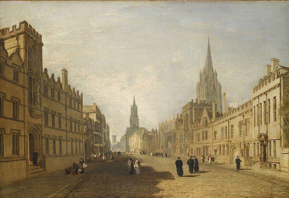 Музей Ашмола собрал средства и выкупит пейзаж Тёрнера «Хай-стрит, Оксфорд»
