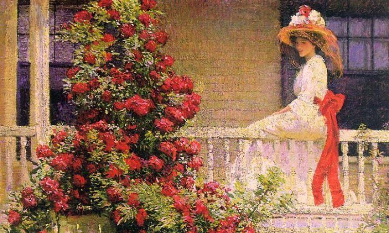 Цветы в саду художника, или Выставка американских импрессионистов от Музея Крайслера