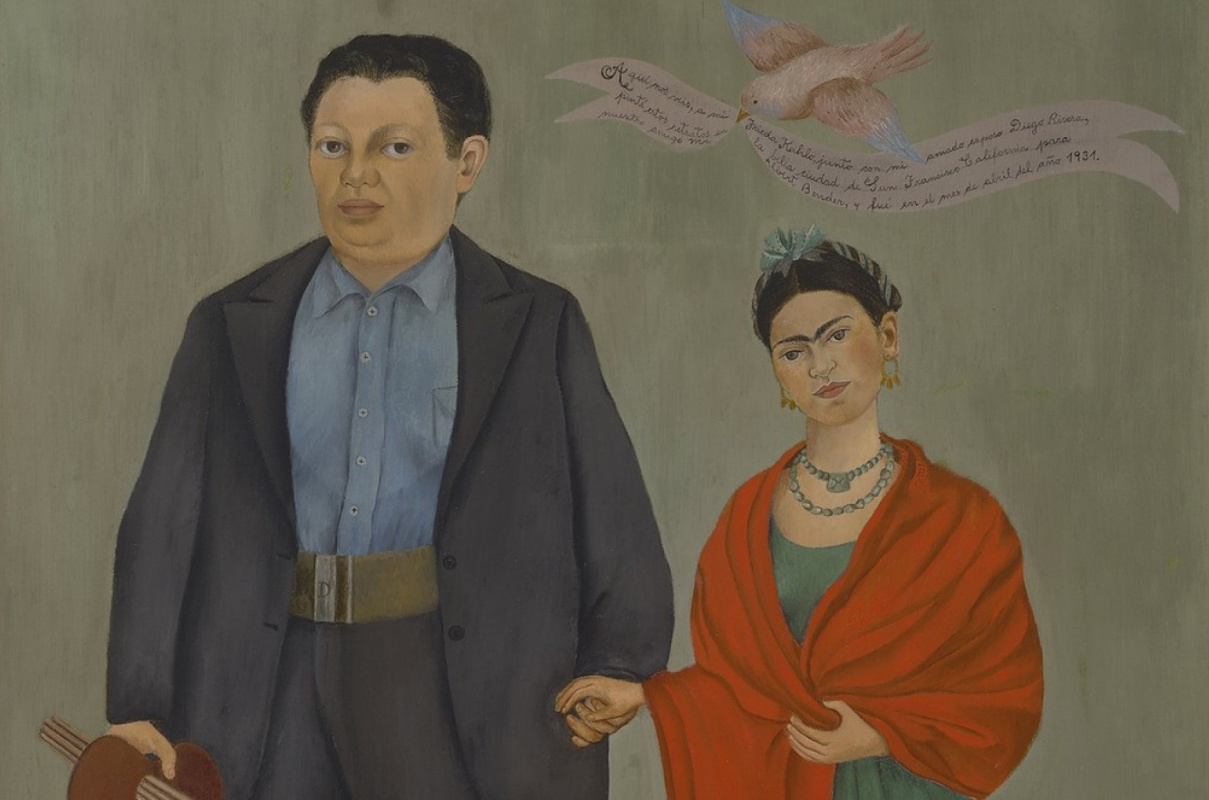 love story in paintings frida kahlo and diego rivera