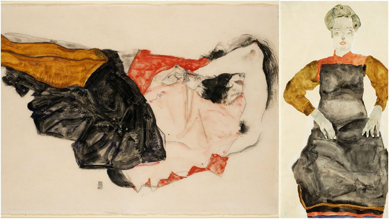 Наследники требуют возвращения работ Шиле, якобы украденных нацистами