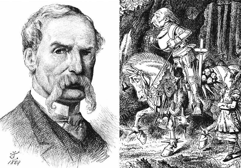 John Tenniel. British Twice Knight