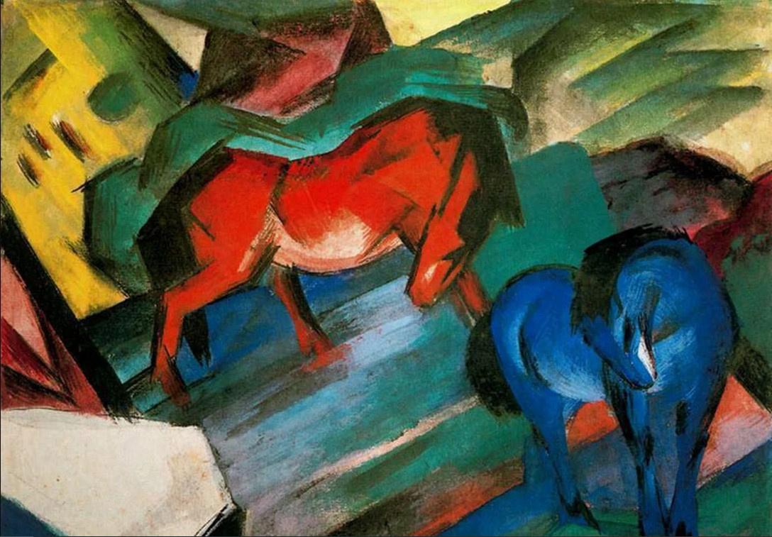 Красный и синий цвета повышают аукционные цены картин, обнаружили эксперты