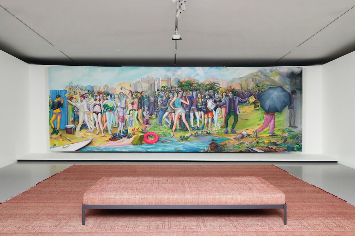 Марсьяль Райс, «Пляж» (2012). Коллекция Франсуа Пино