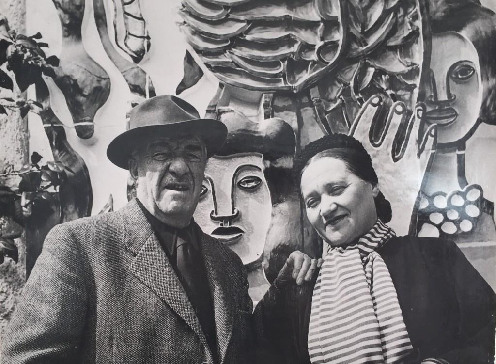 Надя и Фернан Леже.Источник фото
