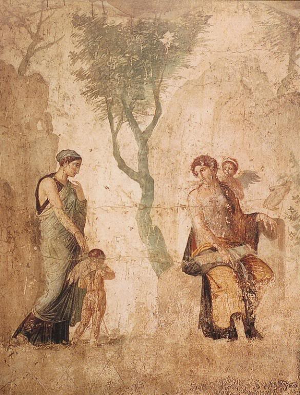 Frescoes and Ash. Painting and Design in Ancient Pompeii