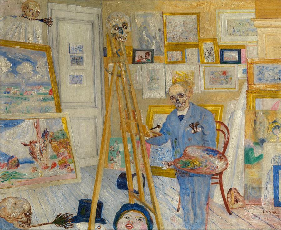 Творческое пространство: Галерея Гагосяна показывает мастерские художников на фото и картинах