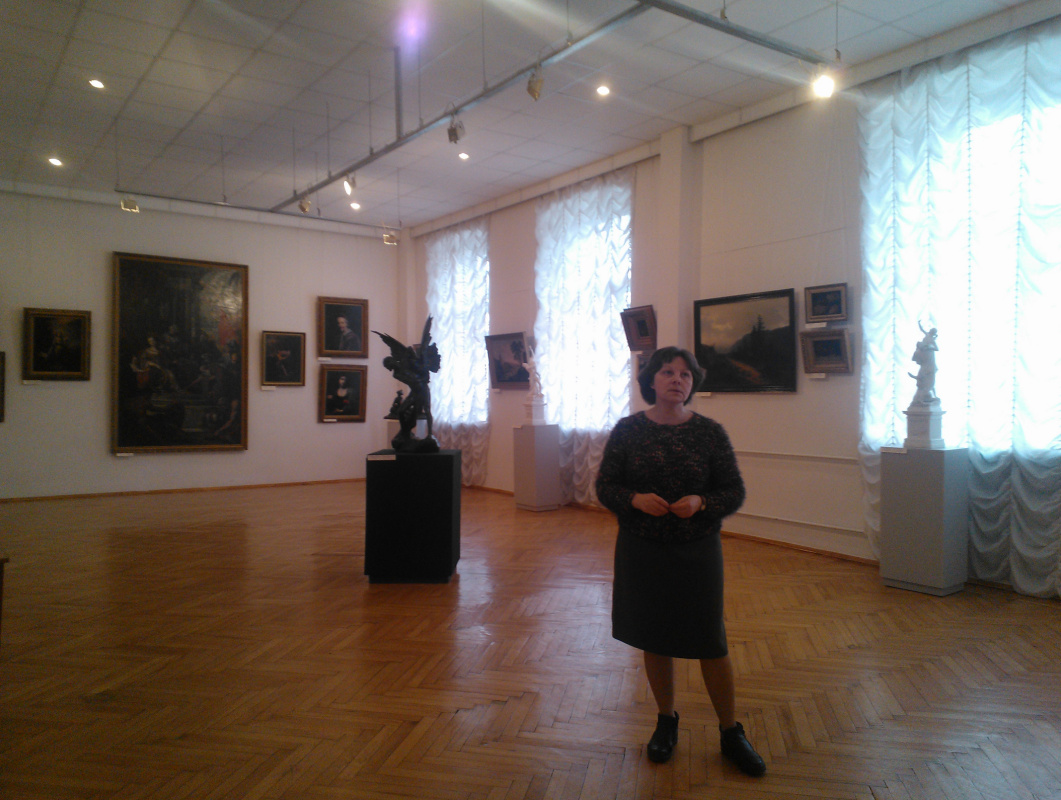 Сокровища музеев Украины: необыкновенный визит в Черниговский художественный музей им. Г.П. Галагана