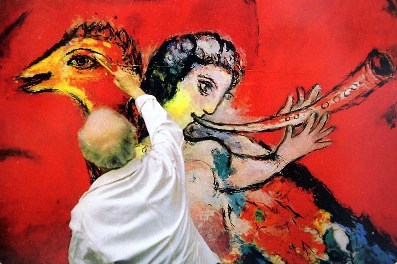 Метрополитен - опера снова закладывает фрески Шагала