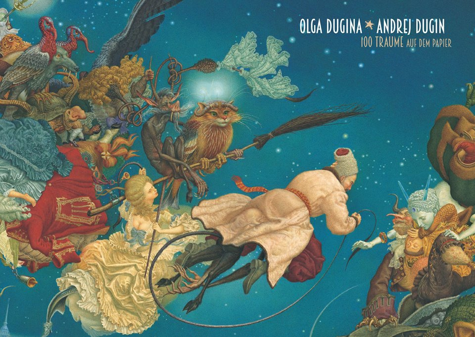 Сто видений на бумаге: выставка Ольги и Андрея Дугиных в Штутгарте