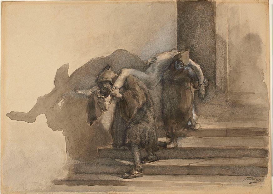От Микеланджело до Модильяни: в Стэнфорде выставлены уникальные рисунки итальянских мастеров