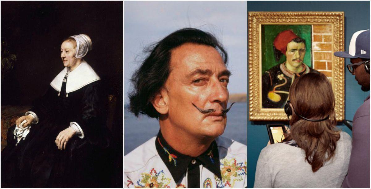 Новые фото Дали, Ван Гог в виртуале и Рембрандт - достояние Англии