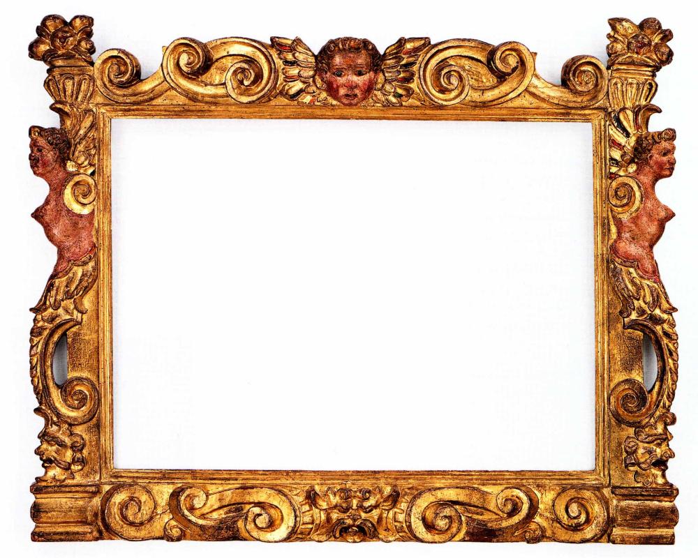 Sansovino style frame, mid-16th century, Italy