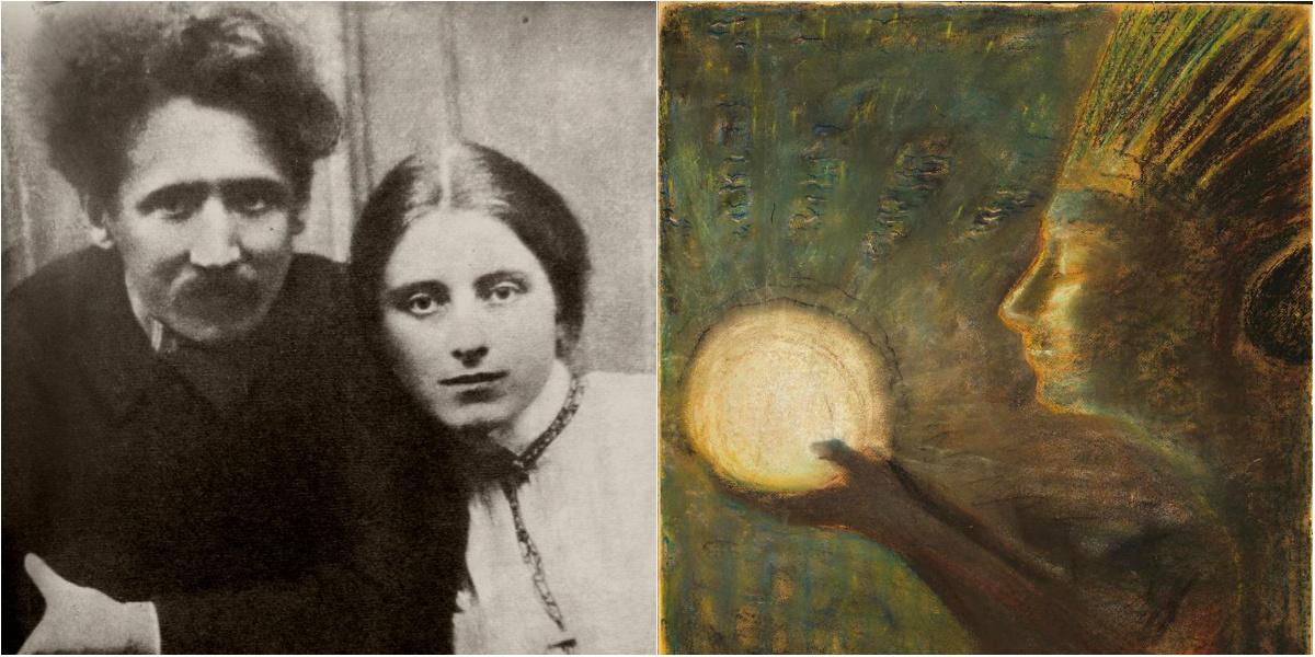 История любви в картинах: Микалоюс Чюрлёнис и София Кимантайте