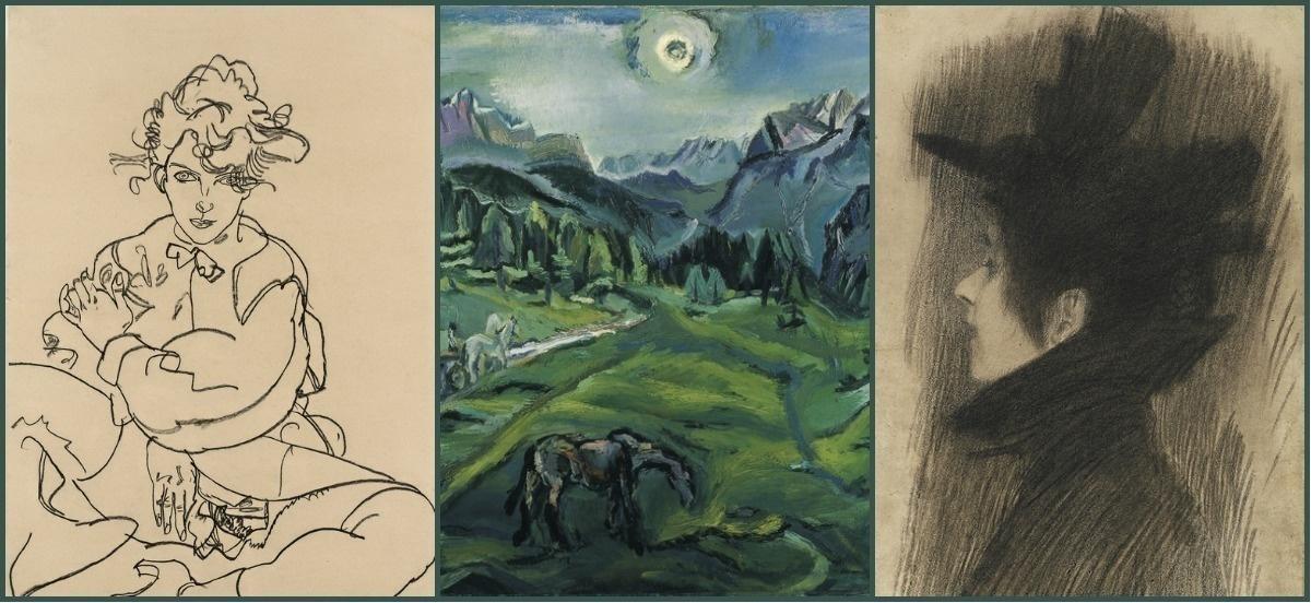 Вена 1900-х: были времена! Климт, Шиле, Кокошка - картины и рисунки венских гениев в Музее Леопольда.