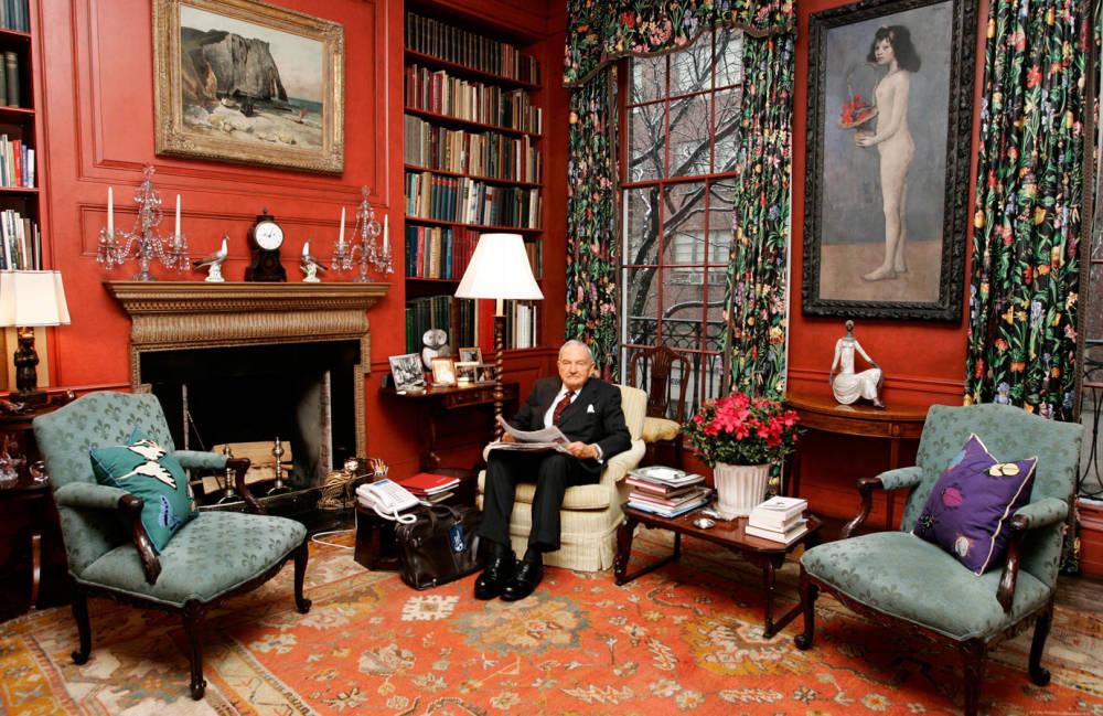 David Rockefeller The Billionaire Art Collector