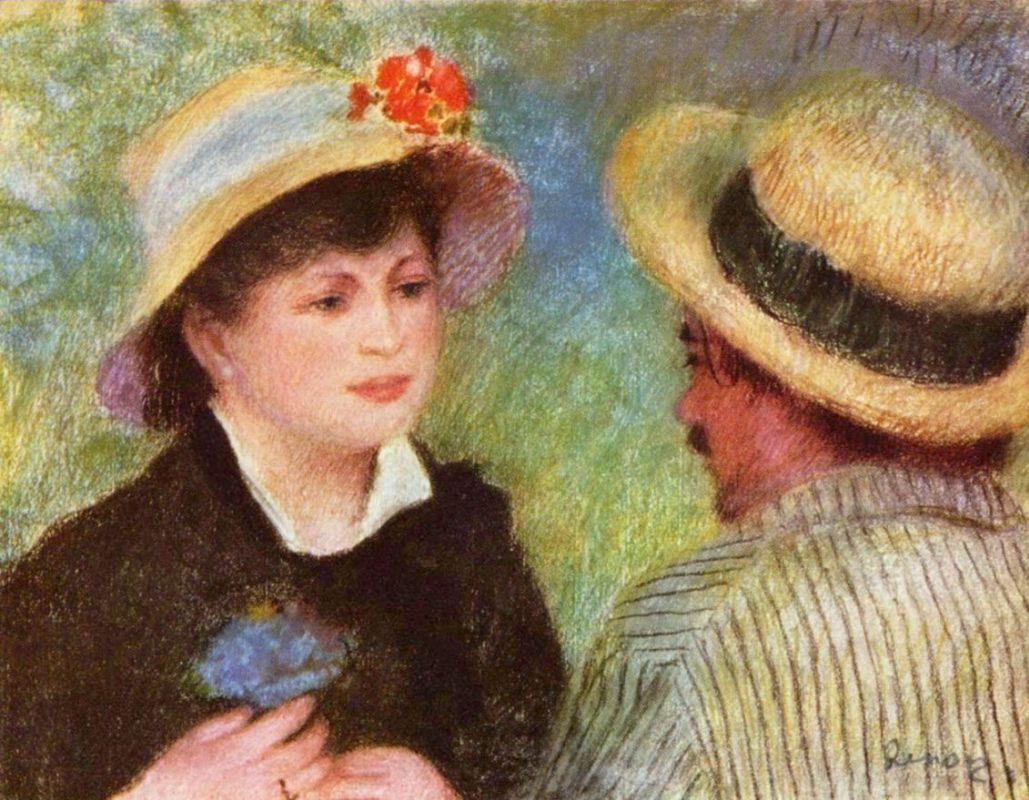 История любви в картинах: Огюст Ренуар и Алина Шариго