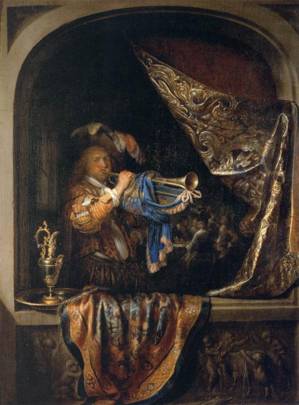 """Геррит Доу. """"Лейденская коллекция"""" из Нью Йорка: от манеры учителя-Рембрандта  - к собственной славе"""