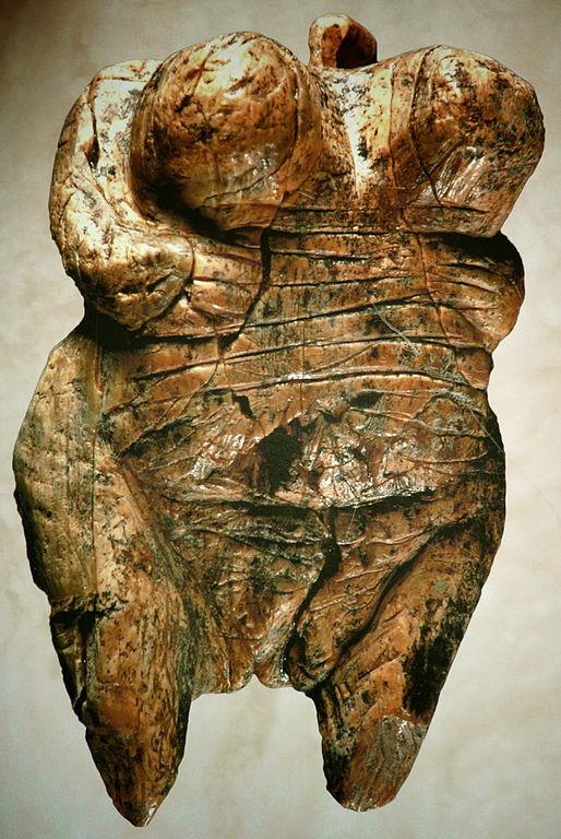 Венера из Холе-Фельс (Венера Швабская). 35-е тысячелетие до н.э. Музей первобытной культуры. г. Блау