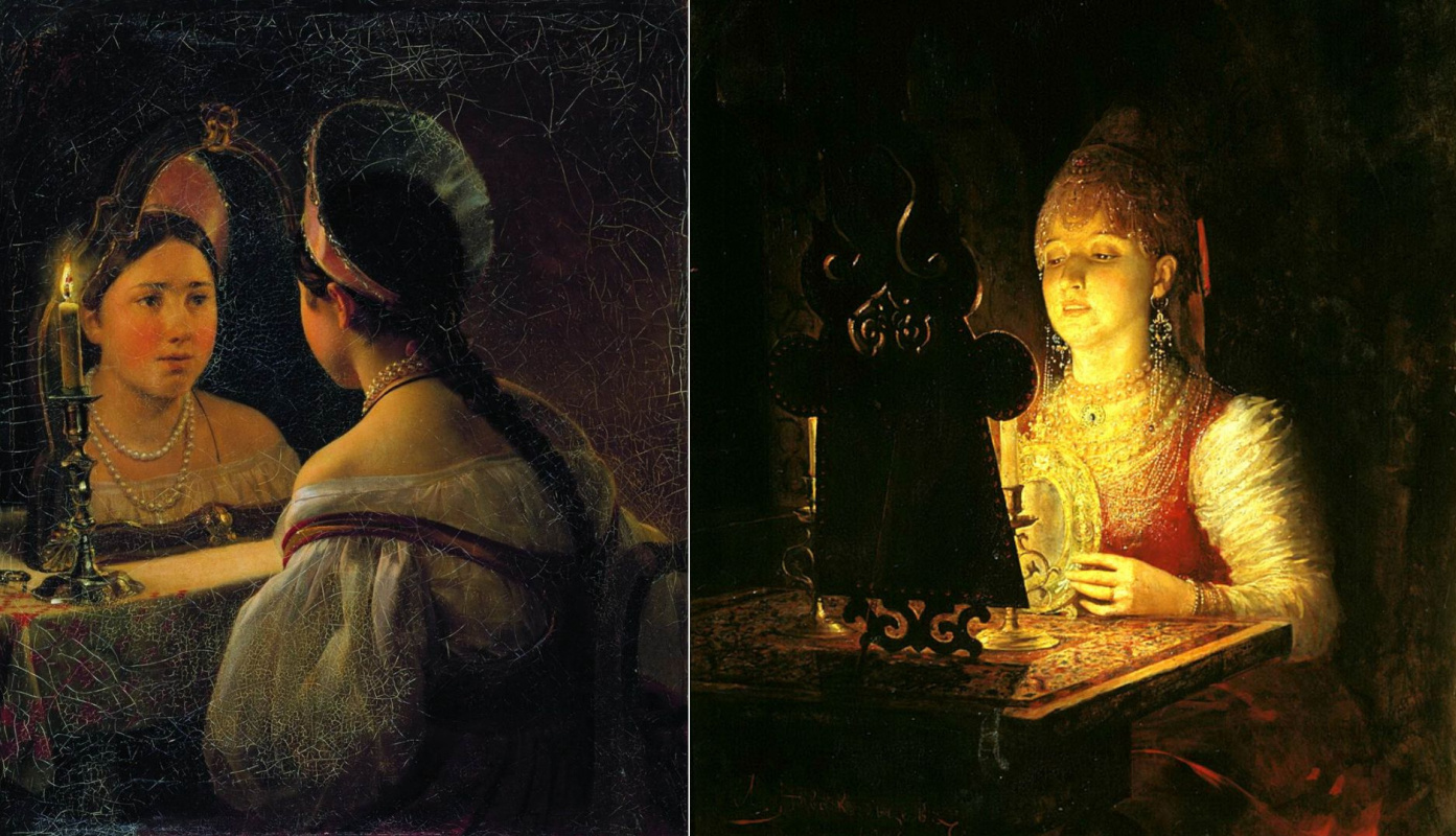 Trick Mirrors in Paintings by Famous Artists: from Van Eyck to Serov, from Strange to Scary