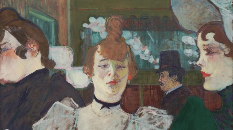 Лица Belle Époque: любимые модели Анри Тулуз-Лотрека