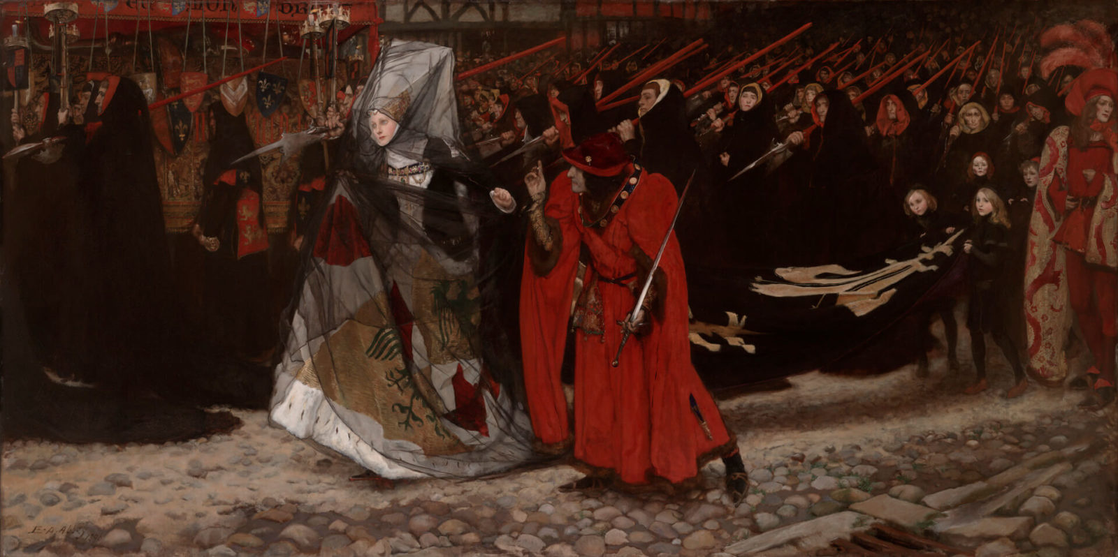 """In scarlet: the prototypes of the """"Game of Thrones"""" in history and painting"""