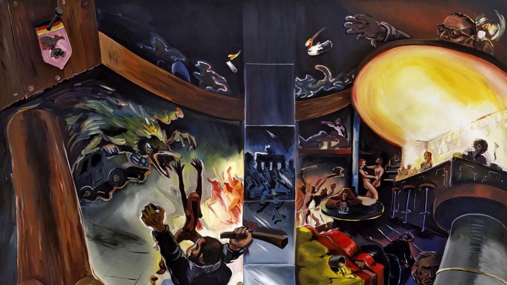 Французы открывают творчество Йорга Иммендорфа: картины и скульптуры немецкого художника-революционера выставлены в Сен-Поль-де-Ванс