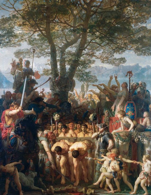 Marc Gabriel Charles Gleyre, Romans Under the Yoke, 1858