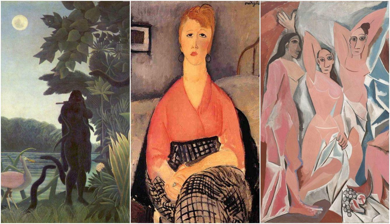 Избранные шедевры из коллекций Жака Дусе и Ива Сен-Лорана представлены в Париже