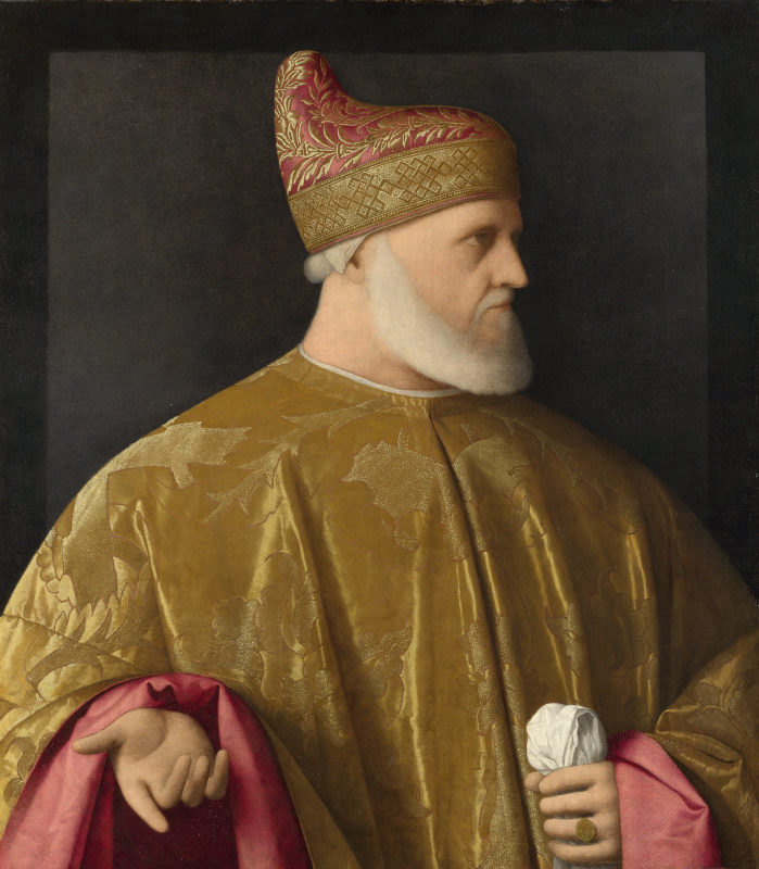 Vincenzo Catena (attributed), Portrait of the Doge Andrea Gritti, 1523-1531, National Gallery, Londo