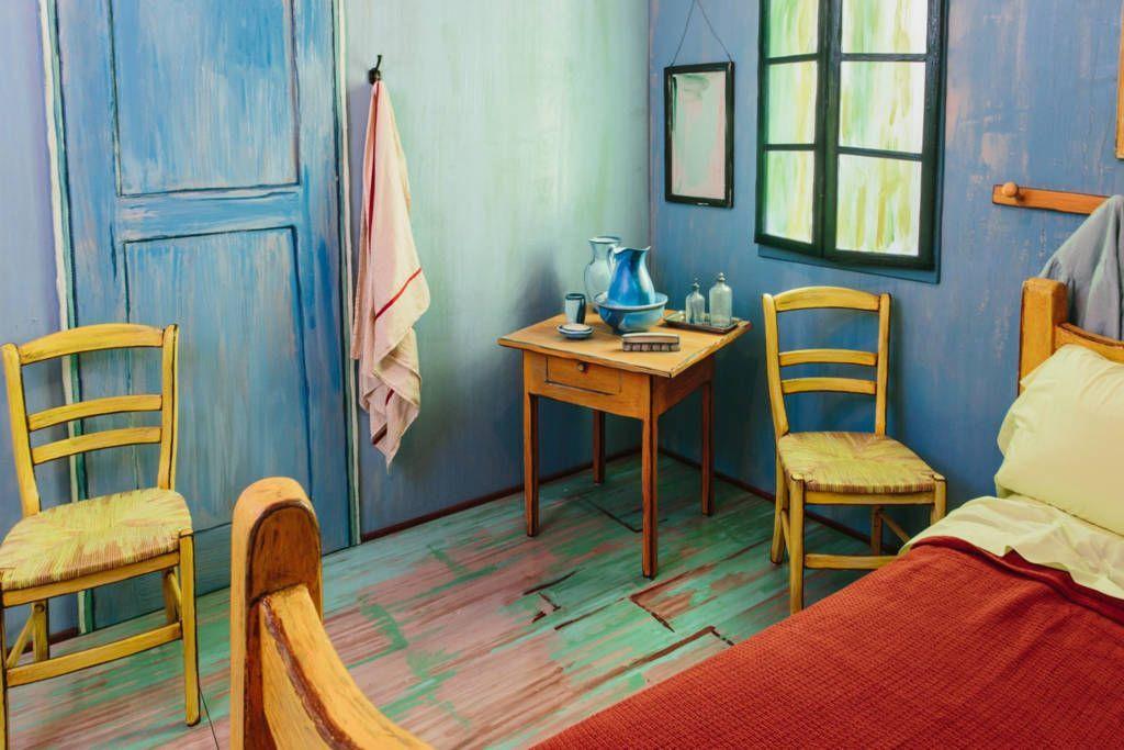 Фрагмент комнаты, предназначенной для туристов. Фото: thisiscolossal.com