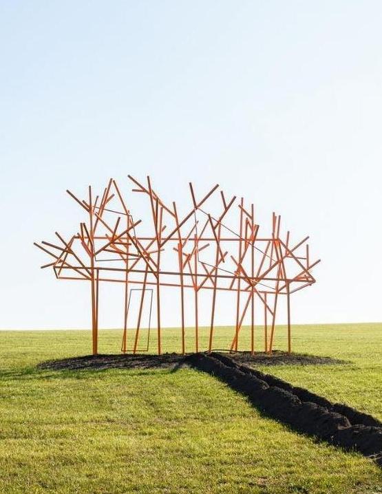 Парк современной скульптуры PARK3020 открылся возле Львова