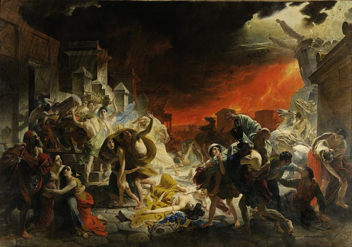 Karl Bryullov, The Last Day of Pompeii, 1830—1833