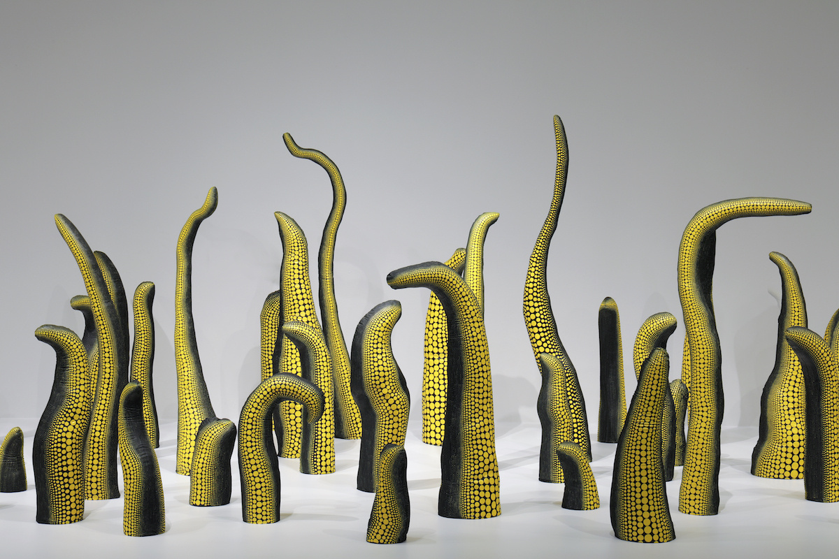 Яёи Кусама. Life (Repetitive Vision), 1998.Hirshhorn Museum.Photo by Cathy Carver via Seattle Art