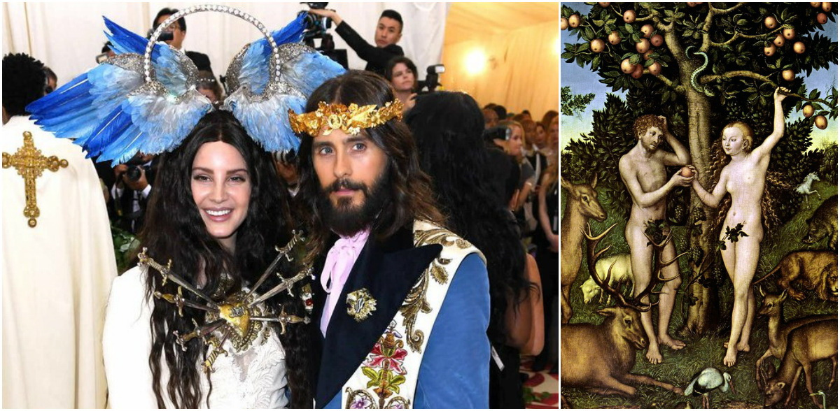 Мода и католицизм на ежегодном балу Met Gala в честь выставки музея Метрополитен